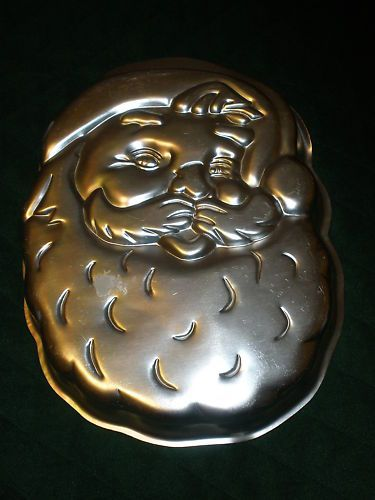 1979 Wilton Shaped Cake Pan~Jolly Santa Face~#502 2308